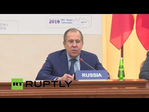 LIVE: Press conference of the FMs of Russia, Romania, Serbia and the Secretary General of the BSEC