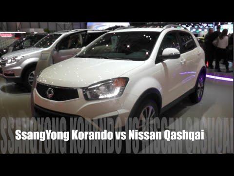 nissan qashqai vs ssangyong actyon