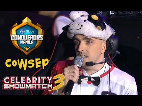 Celebrity Showmatch 3 - Cowsep Highlights | Globe Conquerors Manila 2018