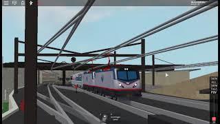 Roblox ? NEC Ro-Scale (NEC Ro-Scale) Meteorito de Plata Amtrak Extendido
