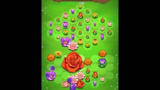 Blossom Blast Saga Level 106