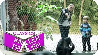 Martina & die Affen hinter Gitter
