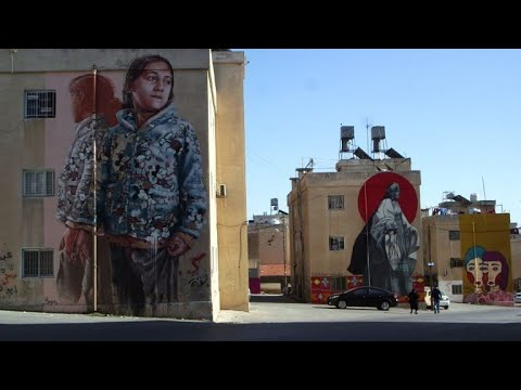 Jordanian graffiti artists brighten Amman's drab streets
