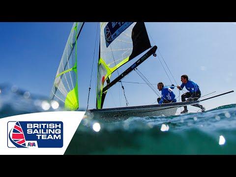 Olympics 2016 - 49er - Dylan Fletcher & Alain Sign - British Sailing Team