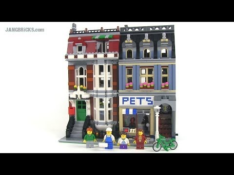 LEGO Pet Shop 10218 modular building Review!