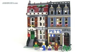 Lego Pet Shop 10218 Modular Building Review!