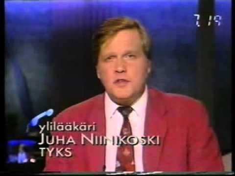 Estonia onnettomuus disaster 28.9.1994 MTV3 Huomenta Suomi