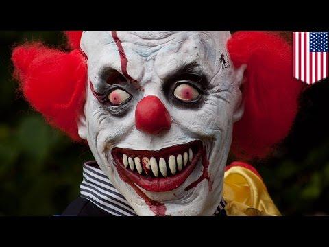 Creepy clowns: Louisiana teens arrested for wearing clown mask amid U.S. clown terror - TomoNews