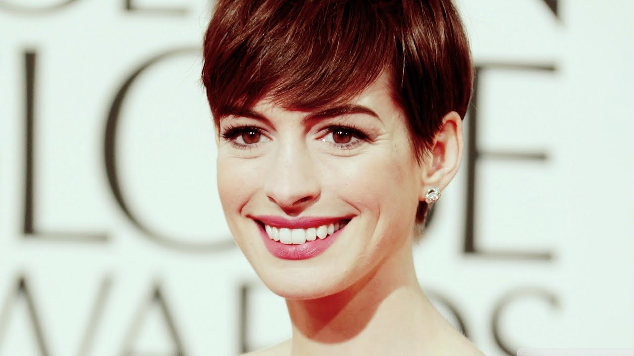 Anne Hathaway Short Hairstyles Youtube
