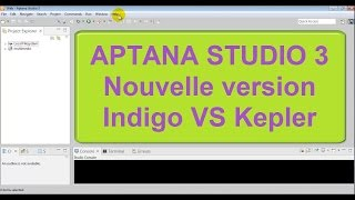 Aptana studio 3 version Indigo VS Kepler