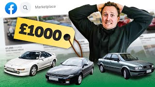 homepage tile video photo for £1000 Facebook Marketplace Cheap Car Challenge
