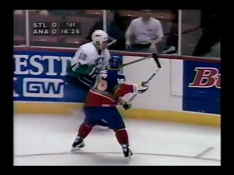 1995 NHL Regular Season St Louis at Anaheim