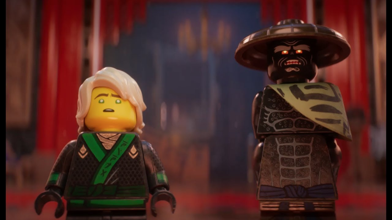 Lego Ninjago Movie Trailer 2 Epic Tale Between Good And Dad Youtube Tee