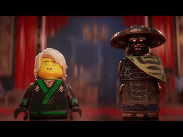 LEGO NINJAGO Movie Trailer 2 - Epic Tale between Good and Dad