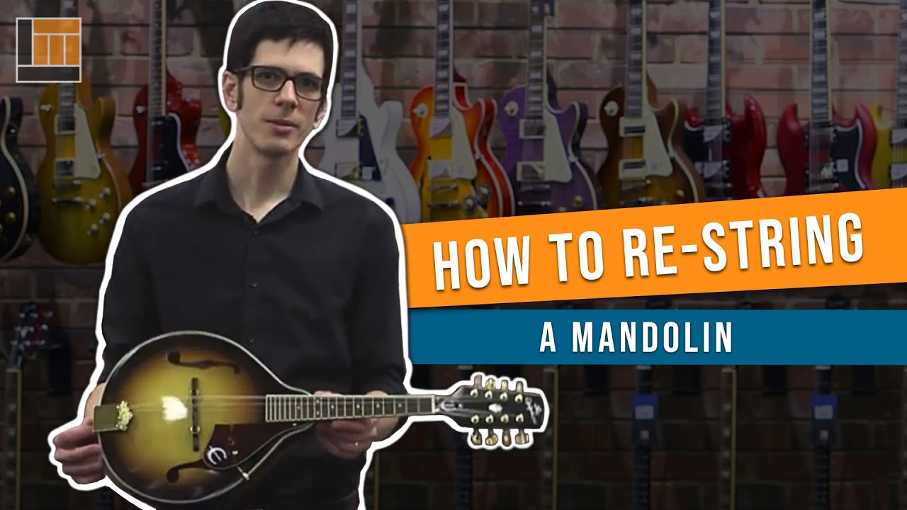 How to Change a String on a Mandolin