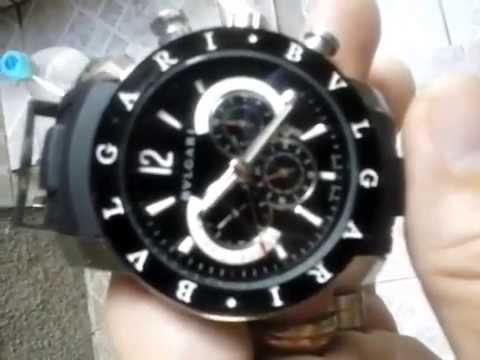 d3350ecb430 Relogio Bvlgari - YouTube