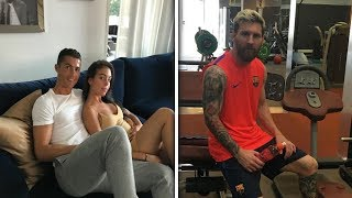 CRISTIANO RONALDO VS LIONEL MESSI - WHO HAS THE BETTER LIFESTYLE  HD