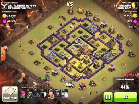 Clash Of Clans - Easy Way To Draw Out The Clan Castle Troops