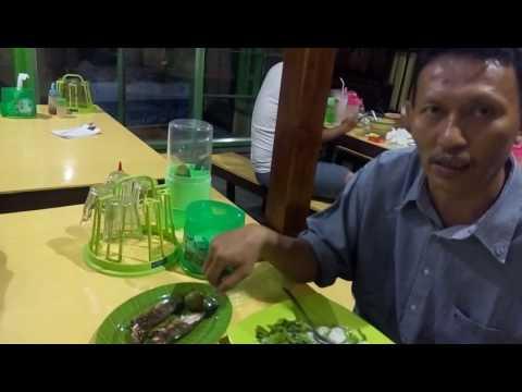 Teras Cafe Gorontalo : ikan bakar tindarong