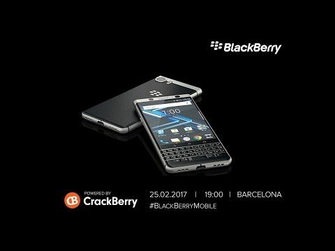 BlackBerry Mobile Livestream from Mobile World Congress 2017