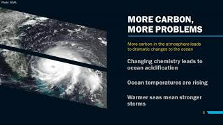 A SEA OF CHANGE: Climate Change and Our Ocean