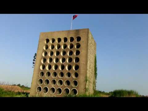 Taiwan Kinmen Beishan Broadcast Wall 北山播音牆 金門心戰牆