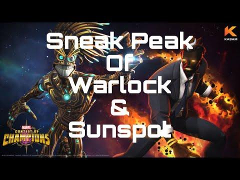 Warlock & Sunspot - August Update V24.1 - Marvel Contest Of Champions