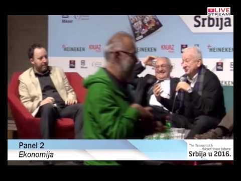 The Economist & Mikser House debata: Srbija u 2016 /  Panel 2 / Ekonomija