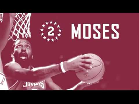 d68706d9f1e8 Moses Malone Gets His  2 Retired in Philadelphia