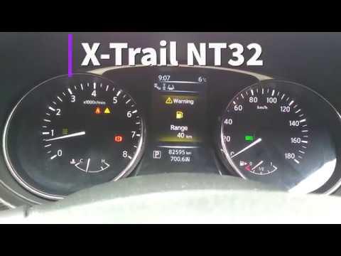 X-Trail максимальный пробег на полном баке