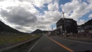 【丹波ドライブ】下篠尾交差点→ドライブインやくの前 60fps