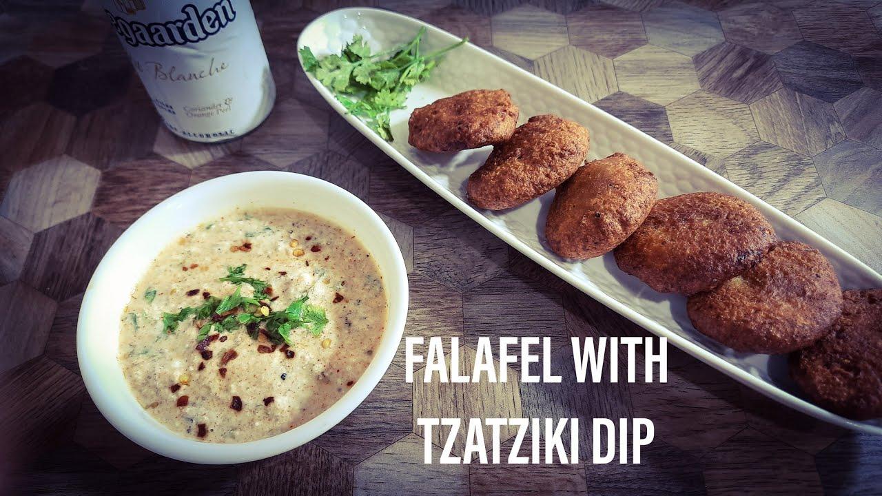 Falafel with Tzatziki Dip