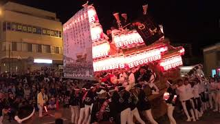 平成29年度 10月8日 上田だんじり 三日市ロータリー パレード