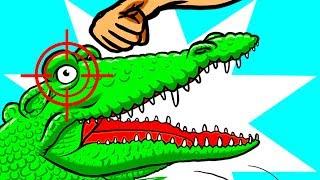 Что делать, если на вас напал аллигатор