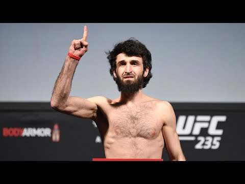 UFC Moscow: Weigh-in