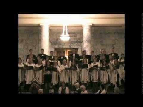 Orest Gutnyk - Choir Grace - Seattle - Washington - Viktoria Mardakova - Царь Царей.wmv