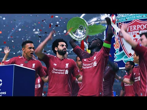 Tottenham vs Liverpool | UEFA Champions League Final | FIFA 19 | HD PS4 PRO