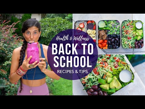 Back to School Health & Wellness Recipes & Tips! 🍎🍌 thumbnail