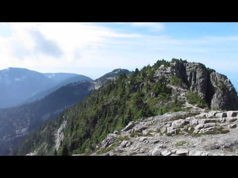 View of the lion's mountains & area, nr. Vancouver BC