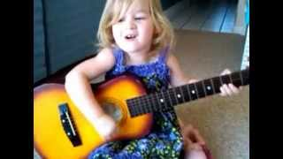 """Whip My Hair"" by Willow Smith, Neil Young style, by toddler copying Jimmy Fallon"