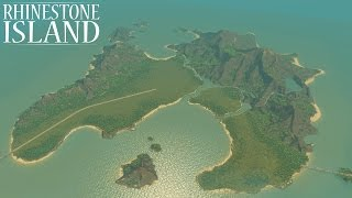 Rhinestone Island [Cities: Skylines Custom Map Speed Build]