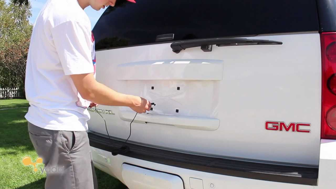 Yada Back Up Camera Installation Guide - GMC Yukon - YouTube
