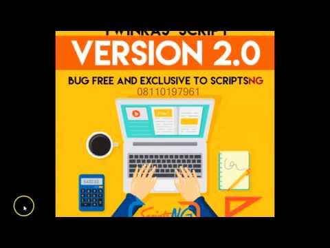 ScriptsNG Official Twinkas Script Version 2.0. Build A Website Like Twinkas a MINUTE