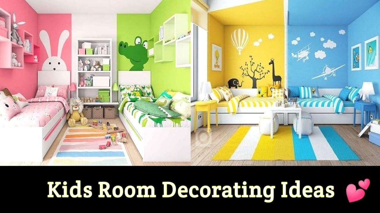 Kids Room Decorating Ideas 2021 Kids Bedroom Makeover Children Room Wallpaper Youtube