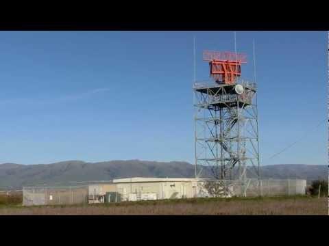 Moffett Field dual horn Radar ASR-9 (AN/GPN-30) Airport Surveillance Radar