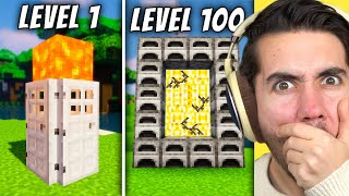 Level 1 To 100 Ways To TROLL In Minecraft