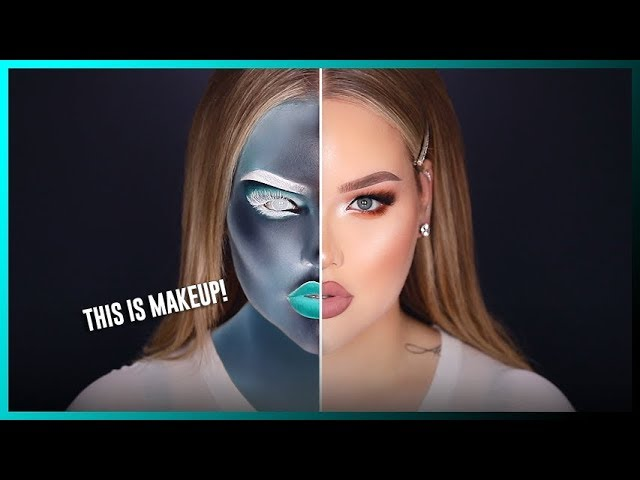INVERTED X-RAY Makeup! WTF!