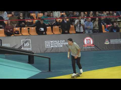World Cup Skateboarding Moscow 2016 finals (3rd round of 3) 20161015