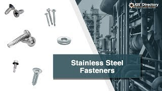 Stainless Steel Fastener Manufacturers, Suppliers, and Industry Information