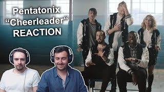 """""""Pentatonix - Cheerleader"""" REACTION"""